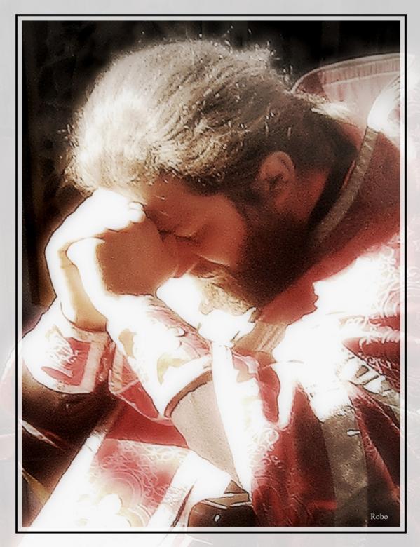 "Схема вышивки  ""Утренняя молитва "" ."