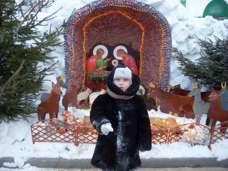 Вертеп рождественский своими руками на улице 96